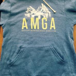 blue AMGA sweatshirt