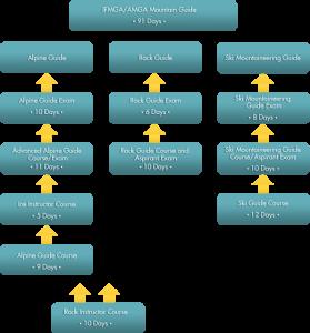 AMGA / IFMGA Flow Chart