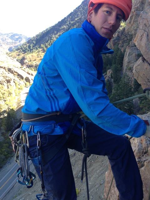 8e6d8006c American Mountain Guide IFMGA Guide Jonathon Spitzer recently tested the  Adidas Sky Climb Jacket and