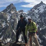 Scott Perkins guides his clients Steve Mcgowin & Scott Sneider on Symmetry Spire