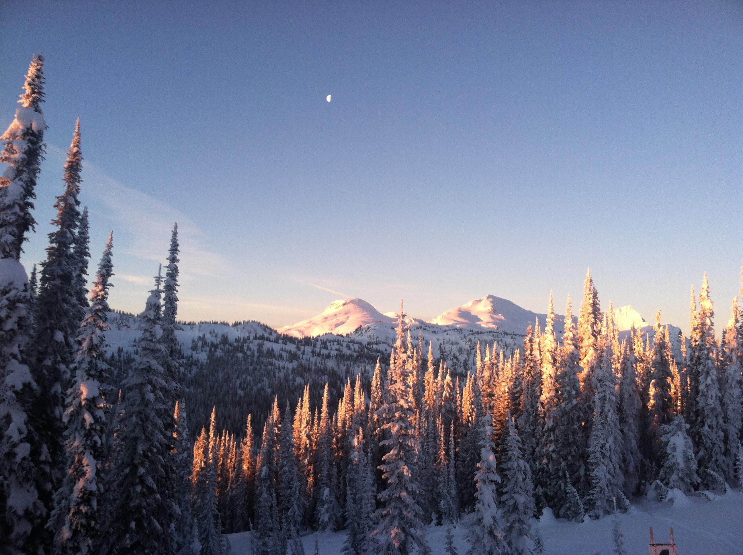 One of many glorious sunrises.
