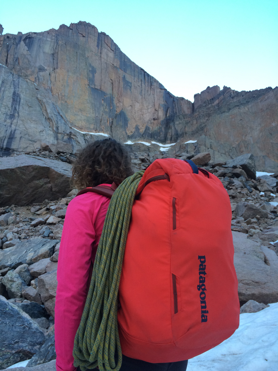 AMGA Rock Guide Lindsay Fixmer Tests the Patagonia Cragsmith Pack ... ecf7d00ce6fb9