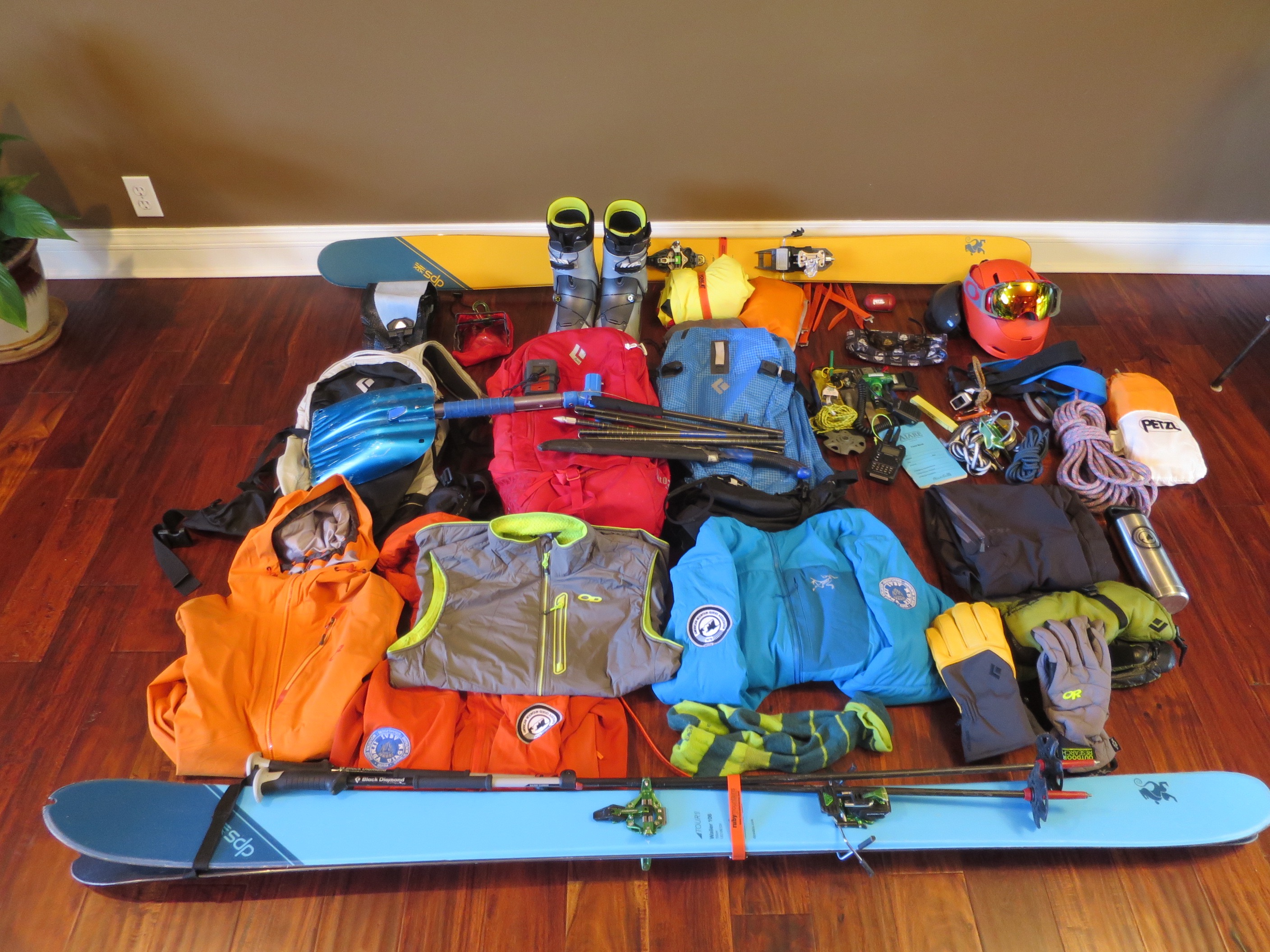 2ed5cde929 What s in my bag  Packing for an AMGA Ski Guide Course - AMGA