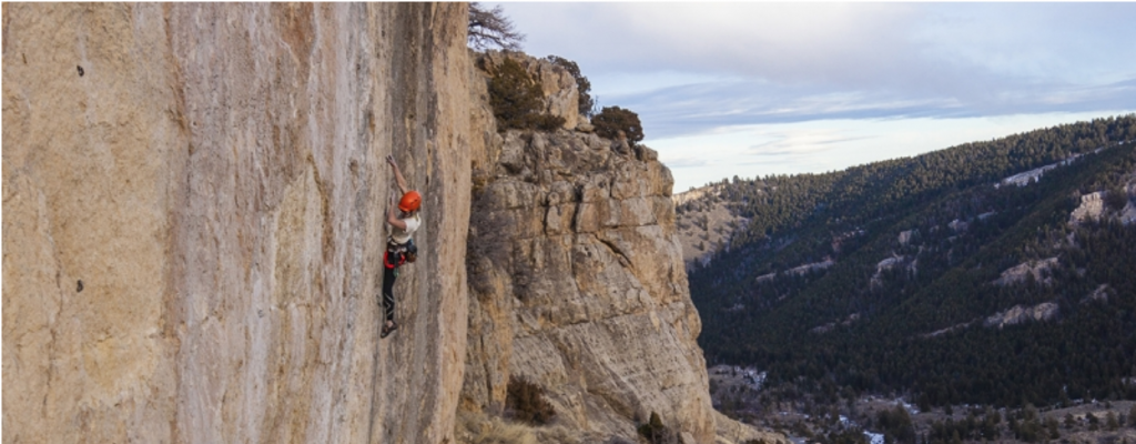 Rock Climbing in Sinks Canyon, Shoshone National Forest